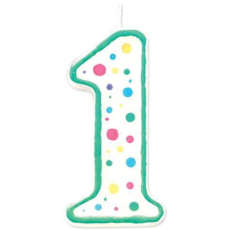 wilton verde de lunares n 250 mero 1 a 241 os vela infantil cumplea 241 os decoracion ebay