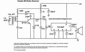 Diy Students  Simple Am Radio Receiver