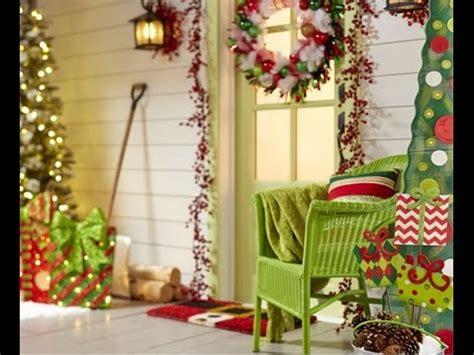 ideas  decorar tu puerta en navidad youtube