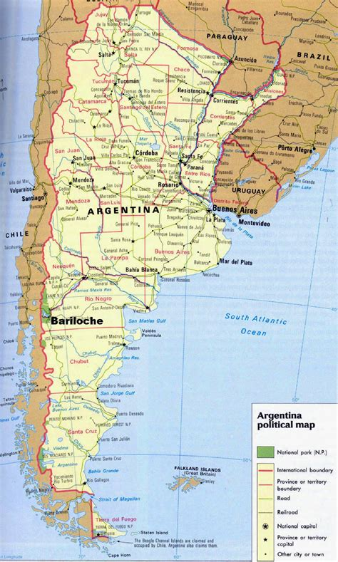 argentina maps printable maps  argentina