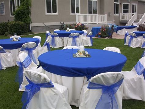 royal blue wedding table decorations royal blue wedding