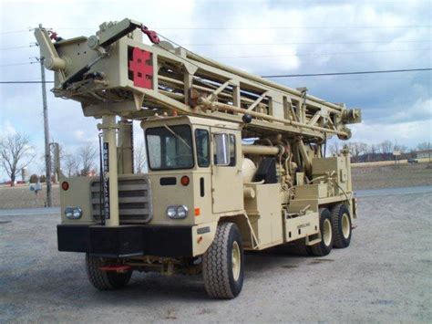 1988 ingersoll rand t4w drill rig sold best used