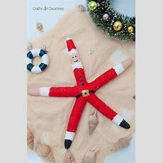 Diy Starfish Santa Craft