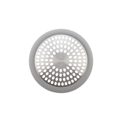 bathtub drain strainer cover oxo grips bathtub drain cover the container store