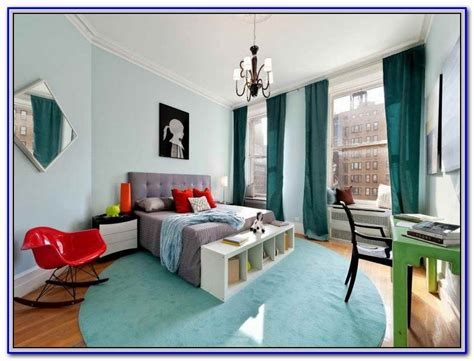 paint colors that go with blue carpet painting home