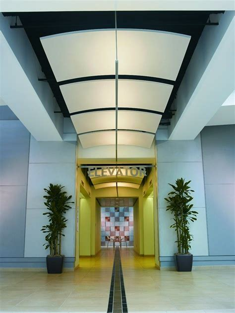 acoustic ceiling clouds optima canopy curved armstrong