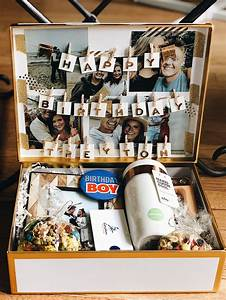 Long Distance Birthday Box for Boyfriend | birthday idea ...