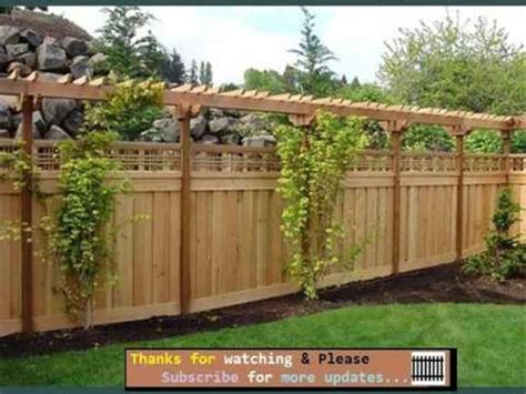 Backyard Fence Options by Fencing Ideas For Backyards Fences Gates Collection