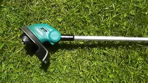 how to make a l cordless makita cordless line trimmer dur181 review
