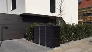 Mülltonnenbox Holz Anthrazit : m llbox perfekt zu moderner architektur zaun haus ~ Whattoseeinmadrid.com Haus und Dekorationen