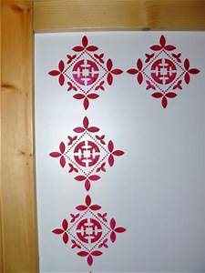 pin baroque motif on pinterest With pochoir mural a peindre