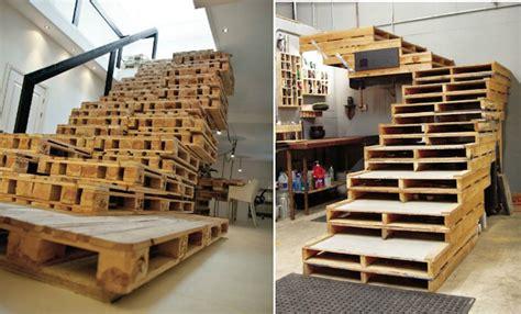 faire un escalier soi meme meuble en palette et alternatives 25 nouvelles id 233 es jardin et int 233 rieur