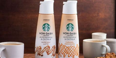 Inspired by starbucks' signature caramel macchiato, our starbucks caramel flavored creamer makes every cup taste like the real thing. Starbucks Is Releasing Non-Dairy Creamers Made With Almond Milk and Oat Milk