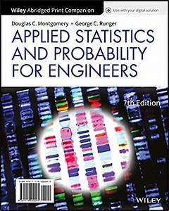Solution Manual For Applied Statistics And Probability For