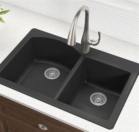 black kitchen sink drop in drop in kitchen sinks buyer s guide design ideas pictures