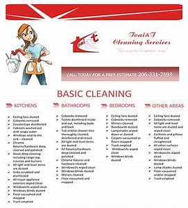 house cleaning services flyer templates With cleaning advertisement template