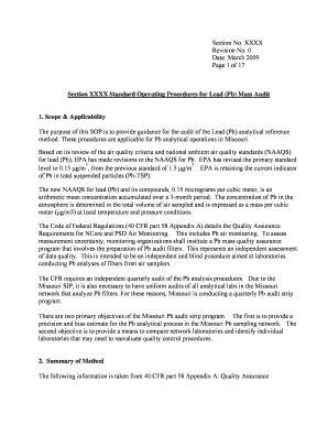 20 Printable standard operating procedures examples in
