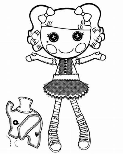 Coloring Peanut Lalaloopsy Pages Butter Printable Dolls