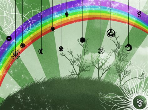 rainbow room wallpaper by taria on deviantart