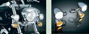Kuryakyn Light Turn Signal Xchoppers Parts For Honda Vtx1800 Vt1300 Fury Suzuki