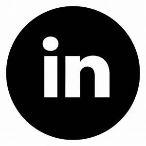 Circle, linkedin, media, social, work icon | Icon search ...