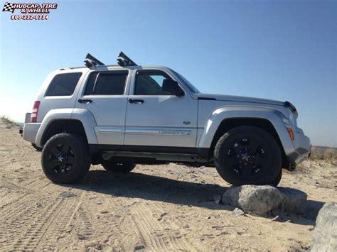 black jeep liberty with black rims jeep liberty xd series xd775 rockstar wheels matte black