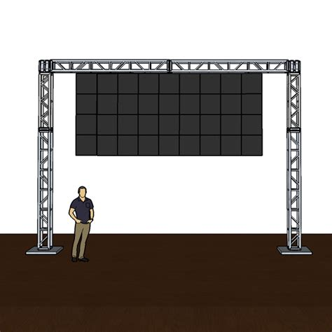truss mounted hd wall panels rental for in outdoor use