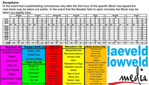 April 16, 2020 , by staff reporter. Know where you stand in the dark: Loadshedding Schedule ...