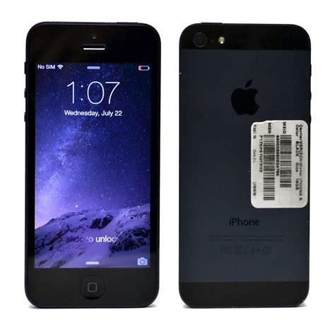 a1429 iphone apple iphone 5 16gb black verizon ios smartphone