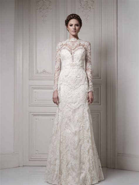 Permalink to Long Sleeve Lace Wedding Dress