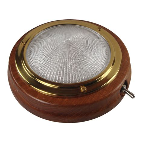 marine led cabin lights switched teak cabin light sheridan marine
