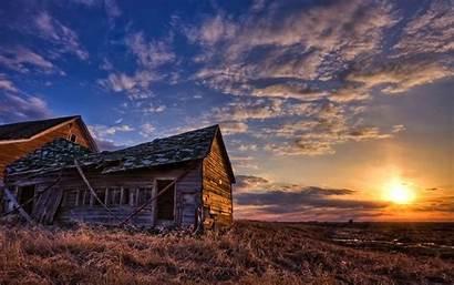 Sunset Wallpapers Country Scene Desktop Background Farm