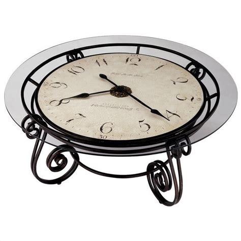 howard miller table clock howard miller ravenna round coffee table clock 615010