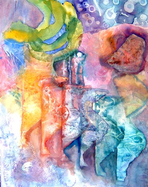 abstract watercolor painting exles