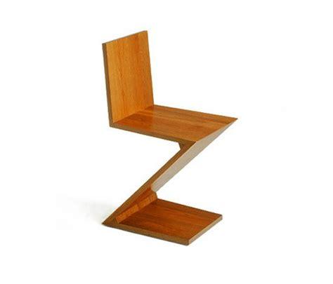 la chaise de rietveld chaise zig zag maison