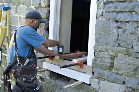 replacing  century windows   historic stone house