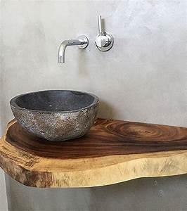 Waschtischplatte Holz Rustikal : ob treibholz rustikales altholz oder lebhafte waschtische aus mass pinterest ~ Sanjose-hotels-ca.com Haus und Dekorationen