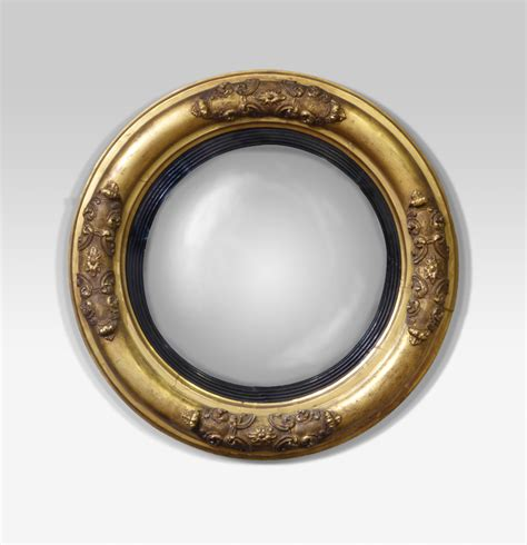 antique mirror antique convex mirror round antique mirror antique wall mirror convex wall mirror pair of