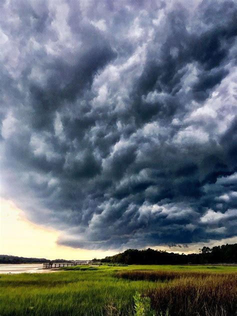 SLIDESHOW: Ominous shelf clouds appear in Horry County