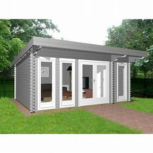 Gartenhaus Mit Flachdach : gartenhaus flachdach 40 mm nwh lingen 40208 naturholz ~ Michelbontemps.com Haus und Dekorationen