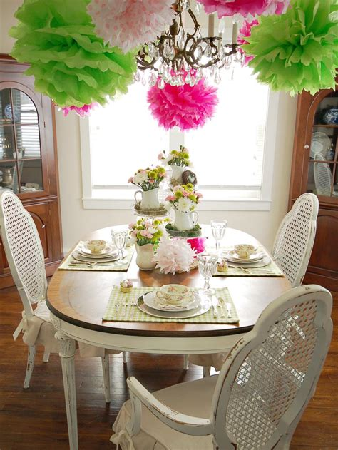 Dining Room Table Settings Ideas