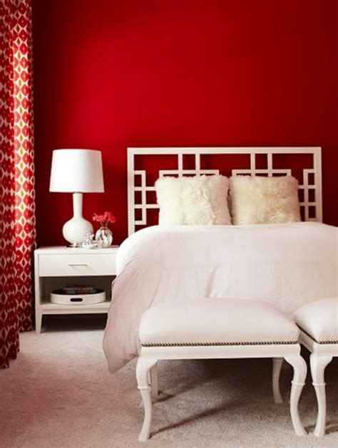 rote wand  ideen mit wandfarbe rot archzinenet