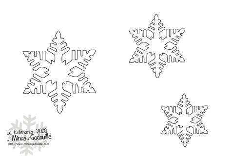 d 233 coupages snow flakes stencils for diy chrismas decor pochoir flocon d 233 coration de no 235 l