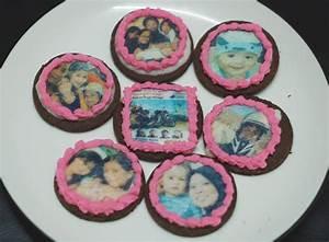 Cantik Cupcake: EDIBLE PHOTO COOKIES
