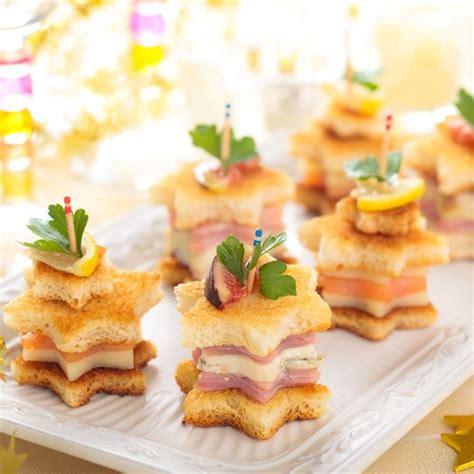 cuisine de a z noel recette tapas de noël au saumon parmesan et jambon