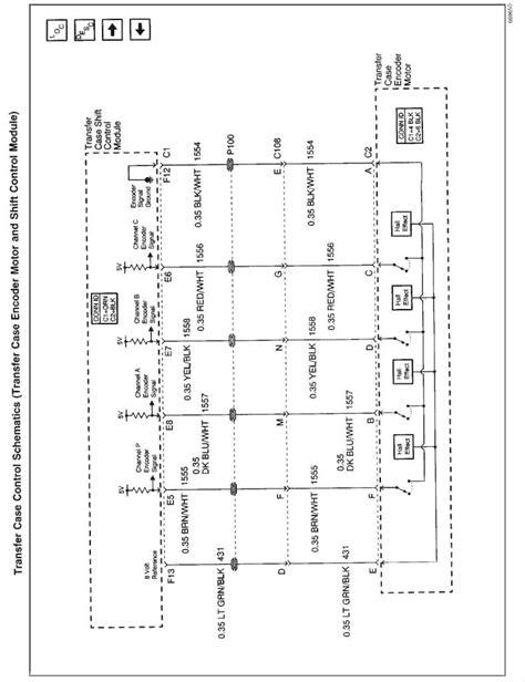 Auto Transfer Case Info Blazer