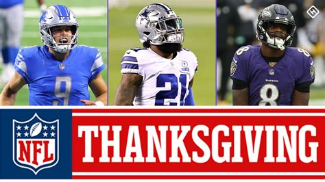 What NFL games are on Thanksgiving in 2020? TV schedule ...