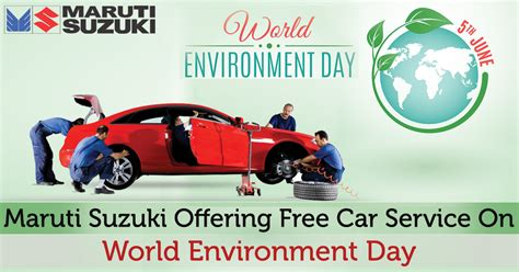 Suzuki Car Service by Maruti Suzuki Offering Free Car Service On World