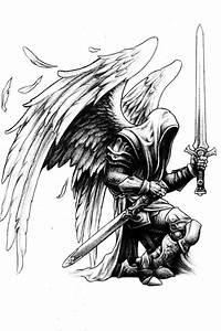 Angel warrior | sketching | Pinterest | Angel warrior ...