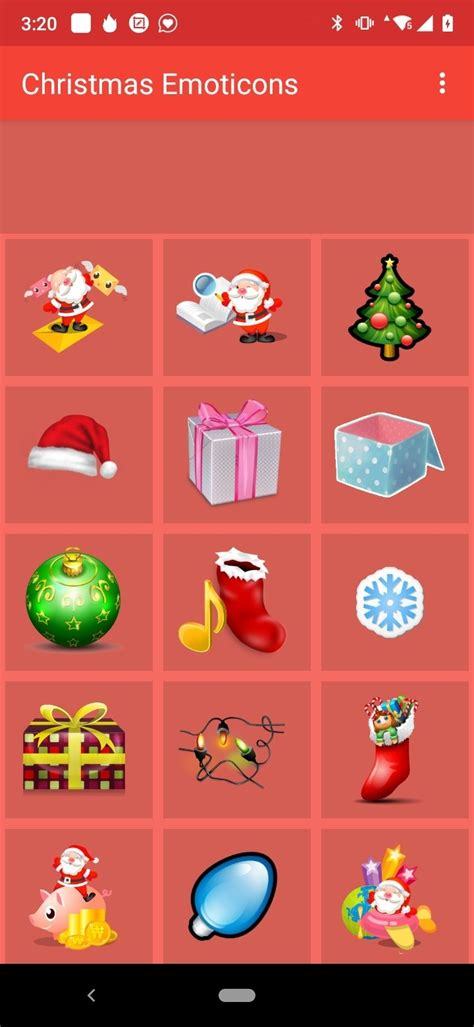 christmas emoticons    android apk